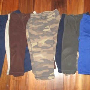 Other - Lot of 5 pairs Fleece 18M pants